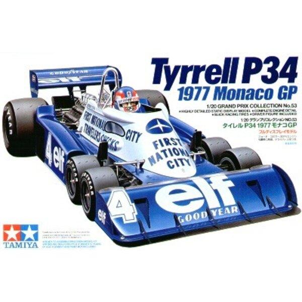 Tyrell P34 1977 Grand Prix de Monaco