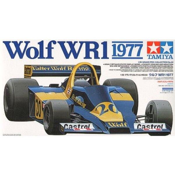 Wolf WR1 1977 avec pièces photodécoupées