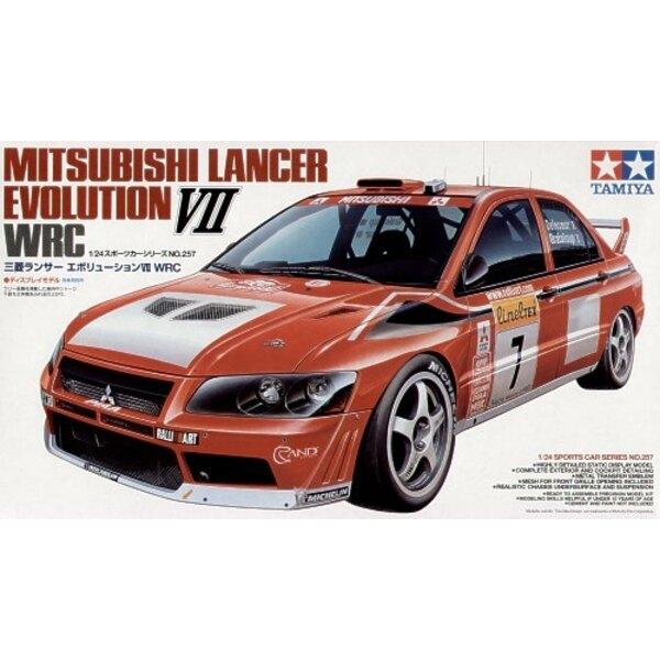 Mitsubishi Lancer Evolution VII WRC 2002