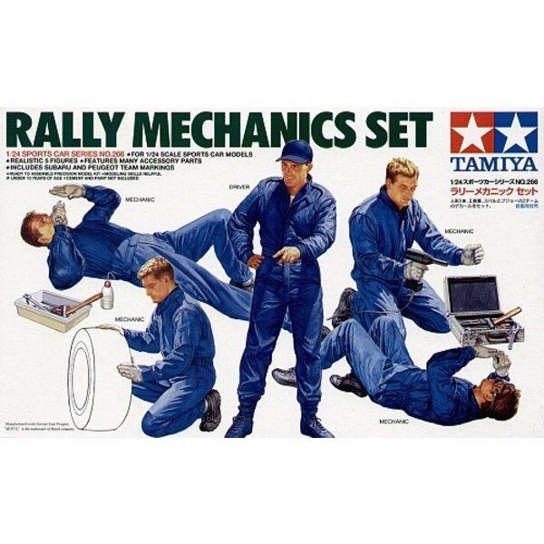 Set de mécanicien de rallye