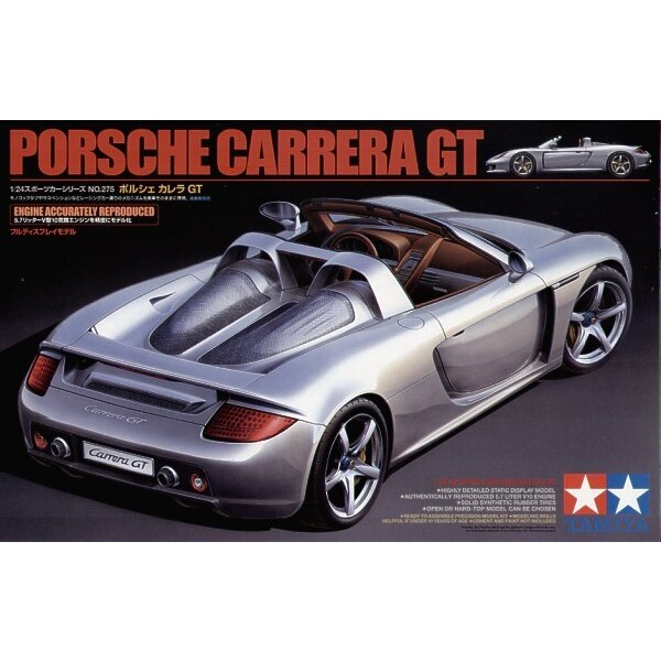 Porsche Carrera GT. AU choix : cabriolet ou toit en dur