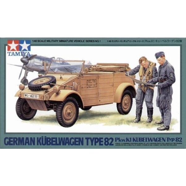 Kubelwagen type 82 et figurines