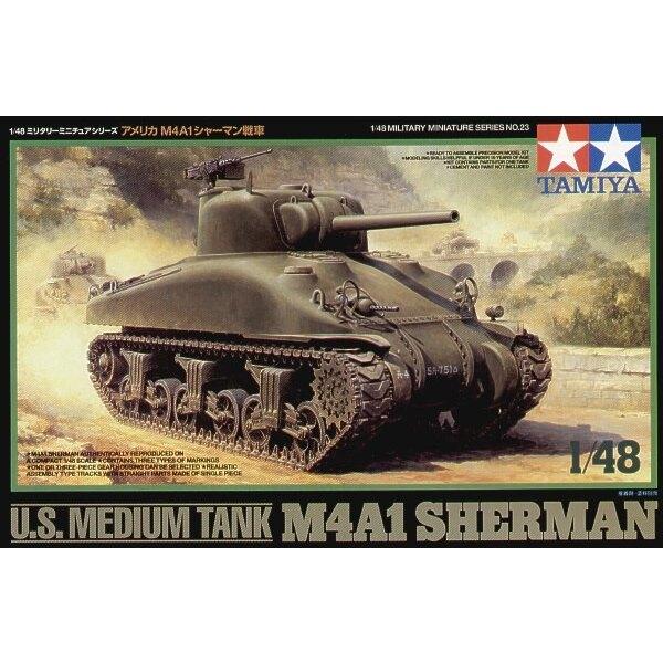US Sherman M4A1