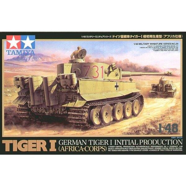 Tiger I la première production Afrika Korps avec meurt des châssis d'acteurs