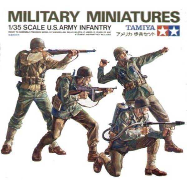 4 fantassins US Army