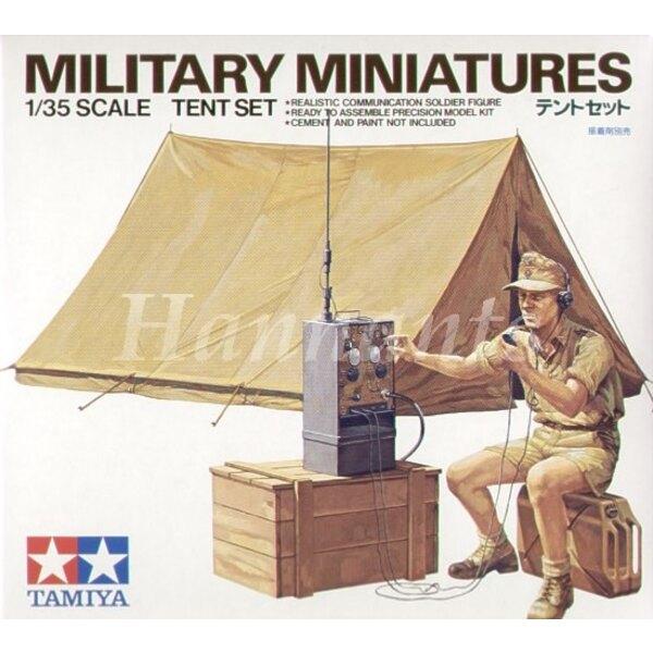 Set de Tente et opérateur radio Afrika Korps - Réédition limitée