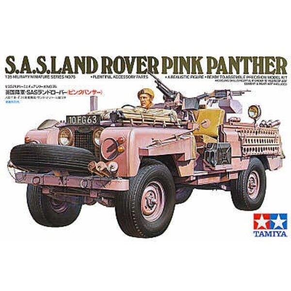 SAS ′Pink Panther′ Land Rover