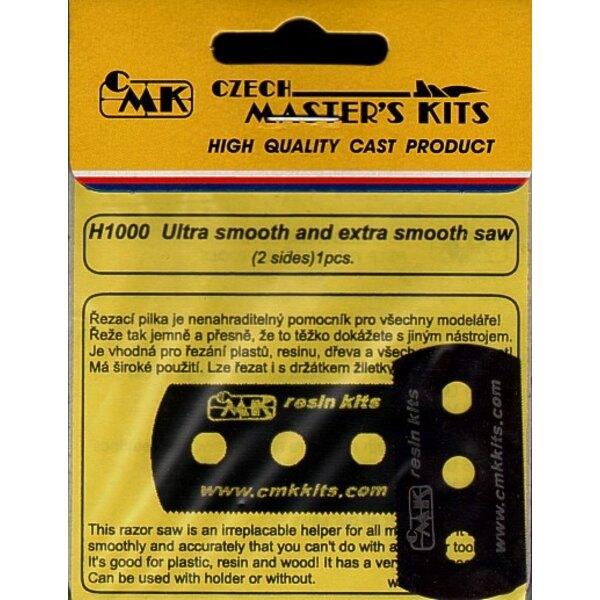 Ultra Fine and Extra Fine razor saw