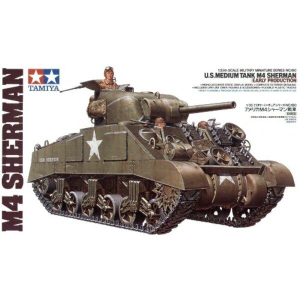 Sherman M4 early version