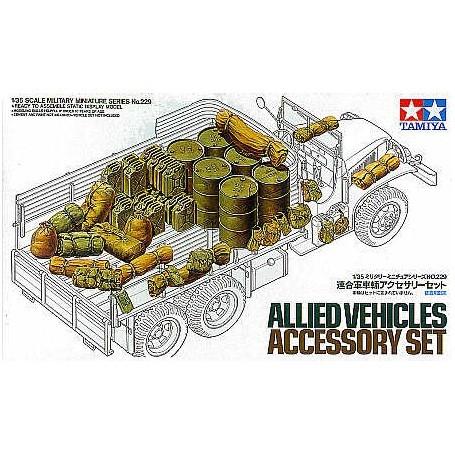 Set d'accessoires pour véhicules alliés
