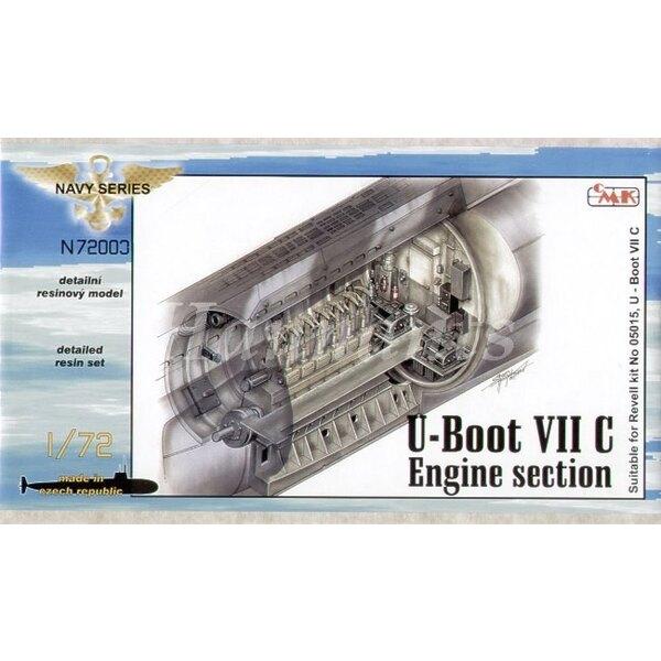 moteur de U-boot Type VIIc (pour maquettes Revell)