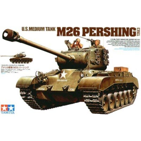 Char moyen d'US M26 Pershing