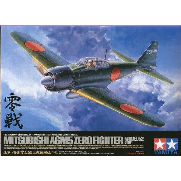 Mitsubishi A6M5 Zero type 52 Zeke