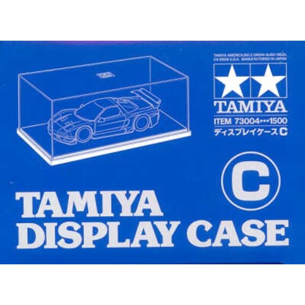 Display Case. Suitable for a 1:20 or 1:24 car 240mm x 130mm x 110mm