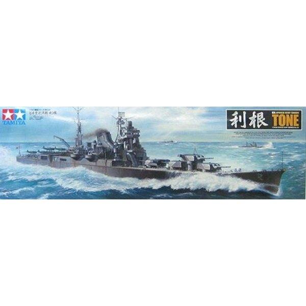 Croiseur lourd japonais Tone avec pièces photodécoupées