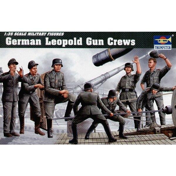 Servants de canon Leopold allemand