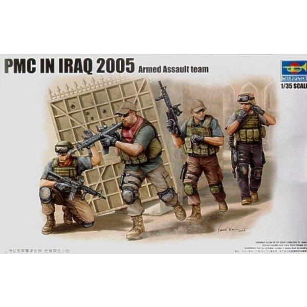 PMC (contractors) en Iraq - équipe en mouvement