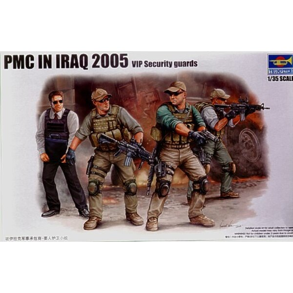 PMC in Iraq - VIP Protection