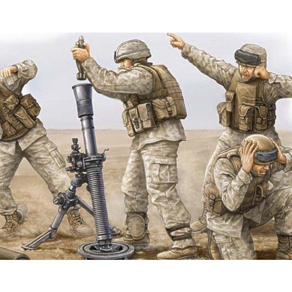Servants de mortier USMC M252