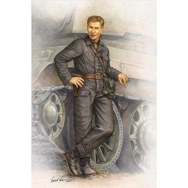 Figurine d'équipage de char soviétique de la 2ème GM 1942