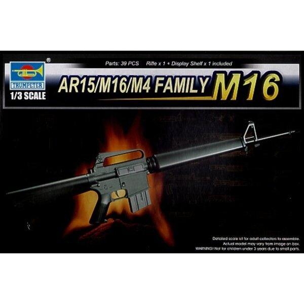La Famille AR15/M16/M4 - le M 16