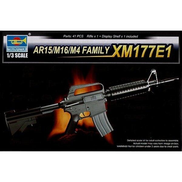 La Famille AR15/M16/M4 : le XM177E1