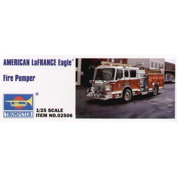 Camion pompier américain LaFrance 2002 Batcalion Pumper