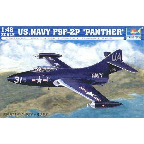 Grumman F9F-2P Panther US Navy