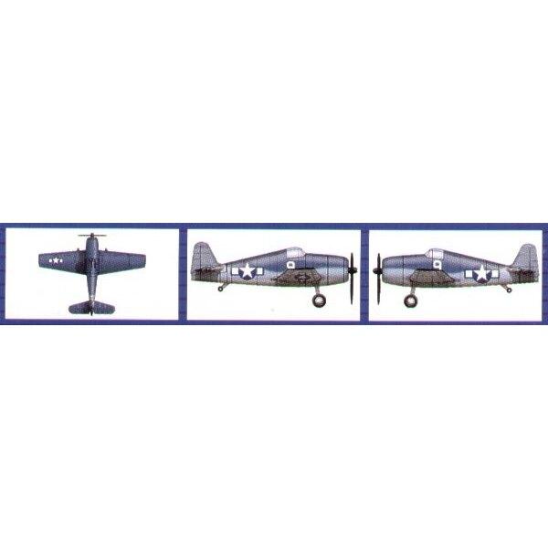 Grumman F6F Hellcat (6 par boîte)