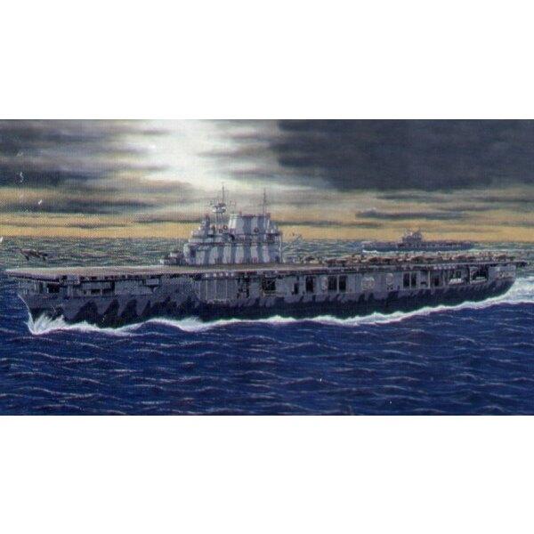Porte-avions USS CV-8 Hornet (aussi avec option de coque à ligne de flottaison)