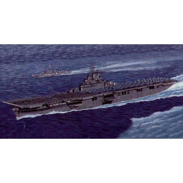 Porte-avions américain CV-9 Essex (aussi avec option à ligne de flottaison)