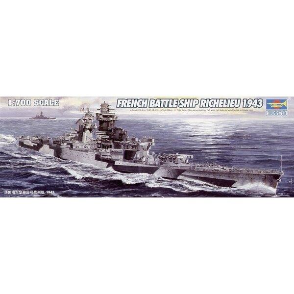 cuirassé français Richelieu 1943