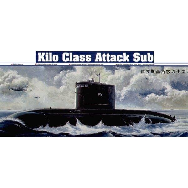 Sous-marin d'attaque russe de Classe Kilo (aussi avec l'option de coque de ligne de flottaison)