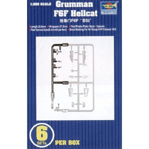 Grumman F6F Hellcat. 6 par boîte