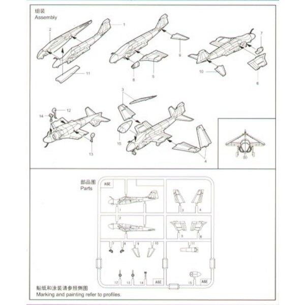 Grumman A-6e Intruder : 6 par boîte