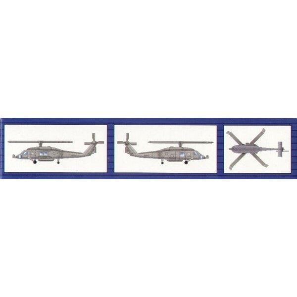 Sikorsky HH-60H Rescue Hawk x 6 per pack