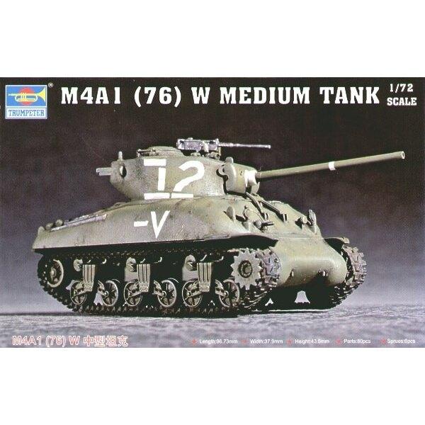 Char de Sherman M4A1(76)W