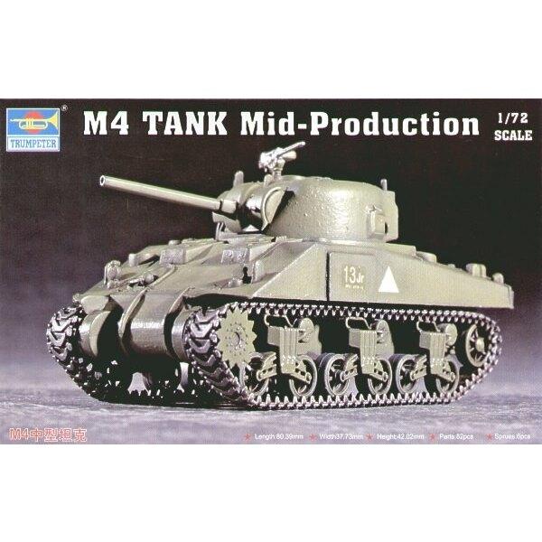 Char M4 Sherman milieu de production