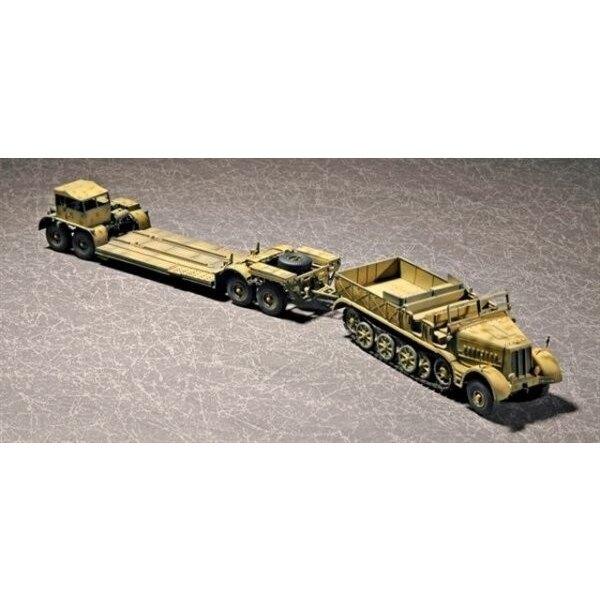 Half-track Sd.Kfz.9 (18t) & Remorque SdAH 116