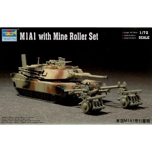 M1A1 avec écraseur de mine