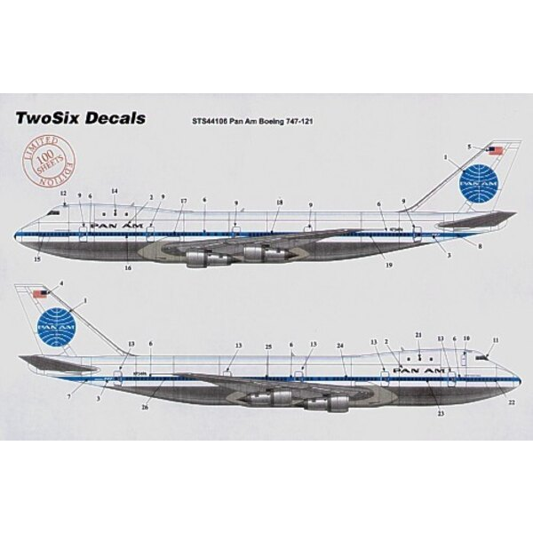 Airbus A300B4 PAN AM Billboard 10 Registrations N202PA etc
