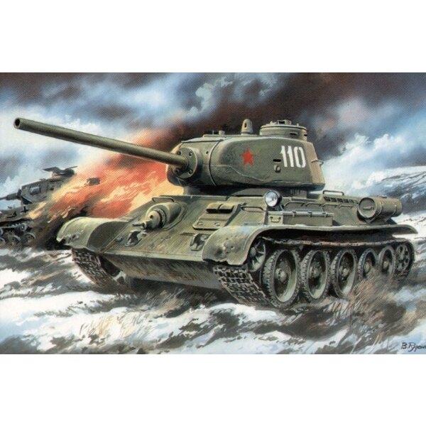 T-34/85 modèle avec canon D5-T