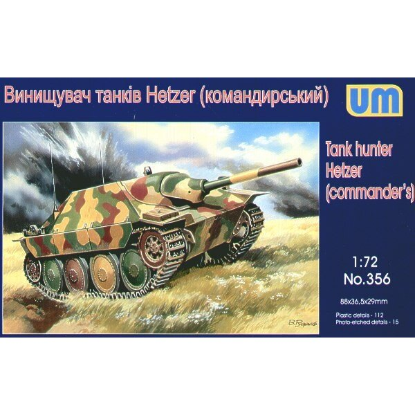 Hetzer version de commandement
