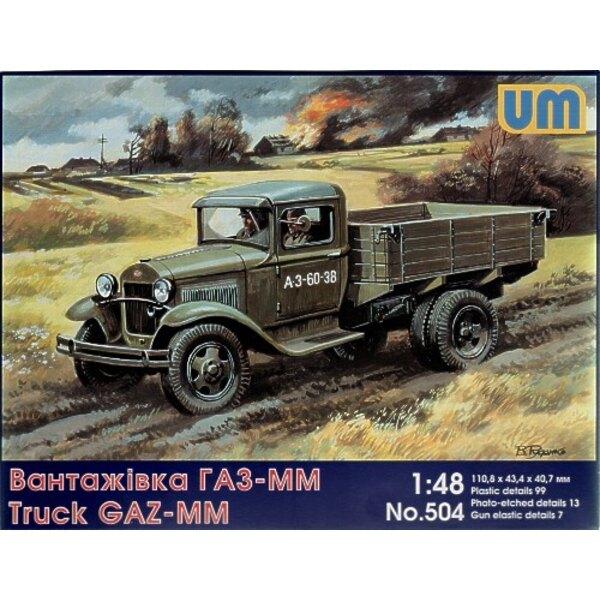 GAZ-MM Soviet truck