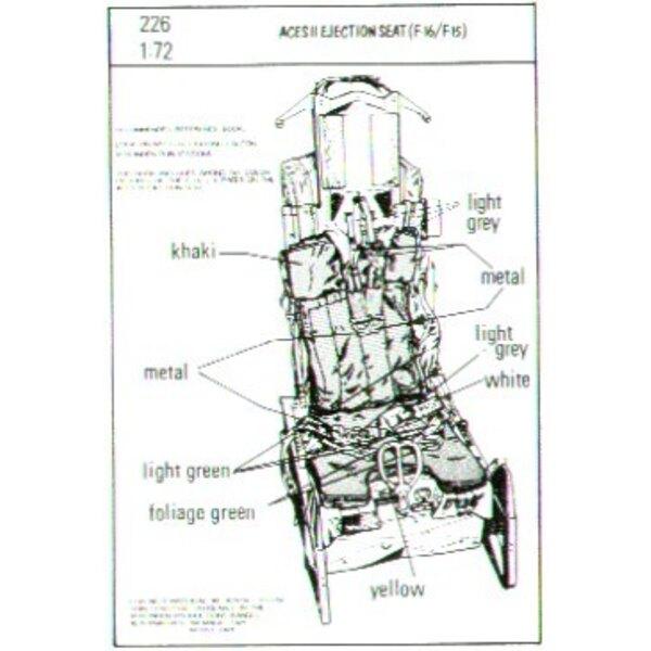 2 sièges éjectables ACES II