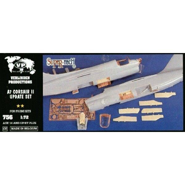 Kit d'amélioration pour de Vought A-7 Corsair (pour maquettes Fujimi)