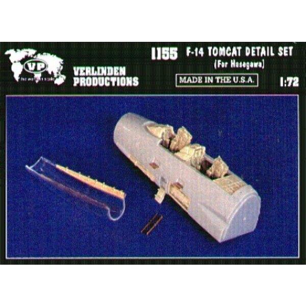 Kit de détail de Grumman F-14 (pour maquettes Hasegawa)