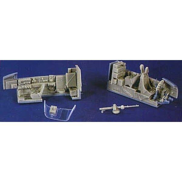 Kit de superdétail pour Junkers Ju 88 (pour maquettes Monogram ou Revell)
