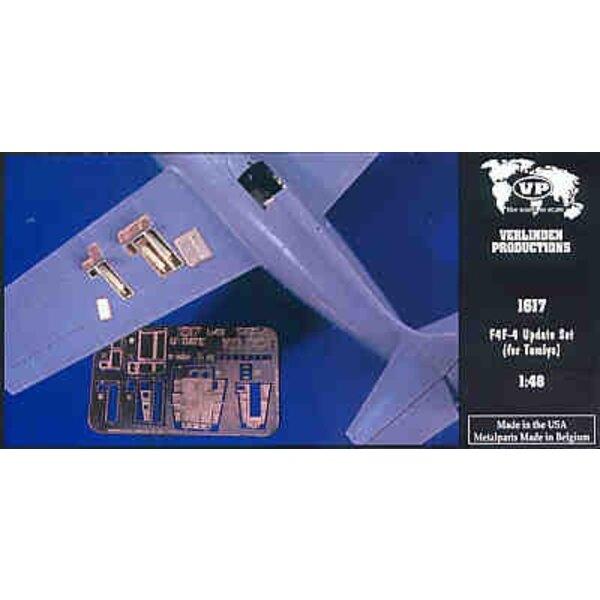 Kit de détail de Grumman F4F Wildcat (pour maquettes Tamiya)