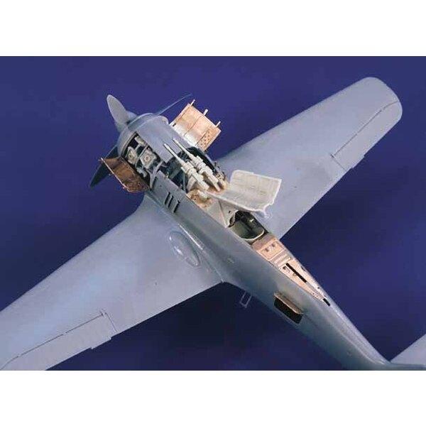 Kit de détail de Focke Wulf Fw 190A-5/8 (pour maquettes Hasegawa)